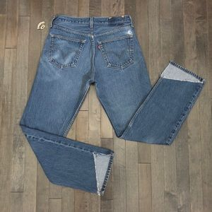 Vintage Levi's 501 Custom Cropped Jeans!!!